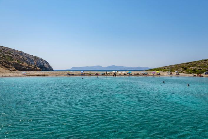 Kounoupa island and beach near Astypalaia island Greece shutterstock_402297643-2