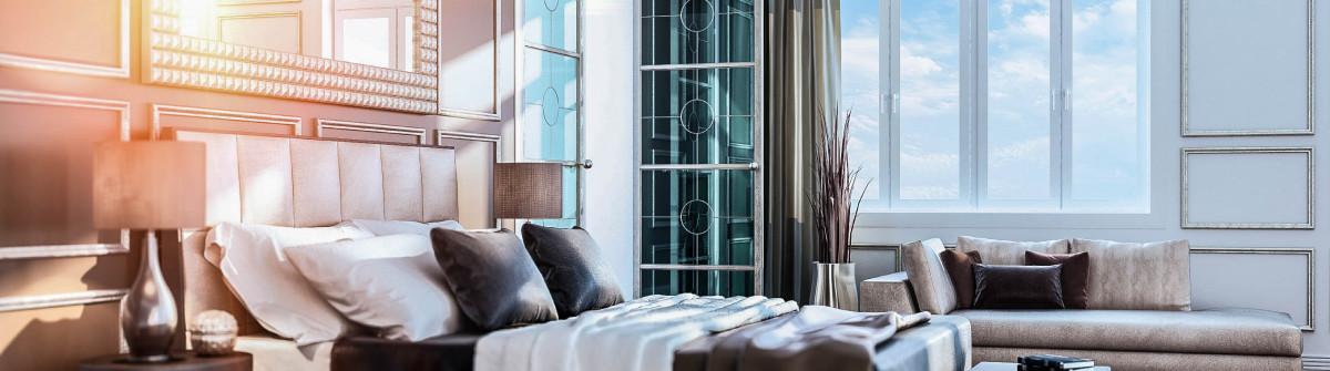 Luxury Bauhaus Bedroom Interior iStock_000053008984_Large-2
