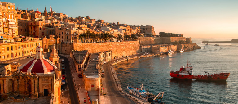 Malta Coast Sunset shutterstock_160904228