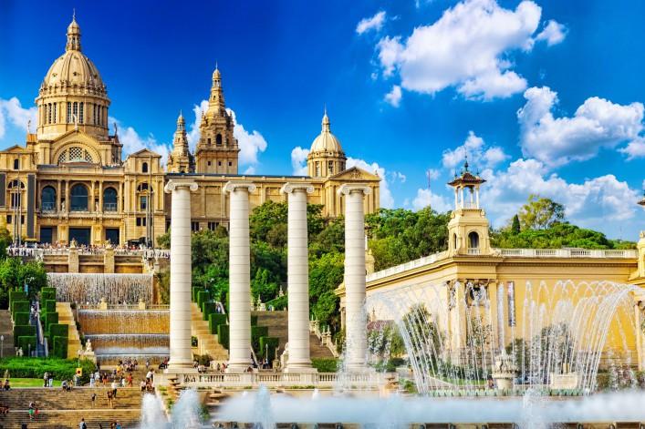 Barcelona Tipps Placa de Espanya Nationalmuseum
