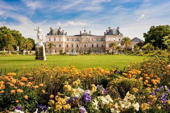 Stadtspaziergang durch Paris Jardin du Luxembourg