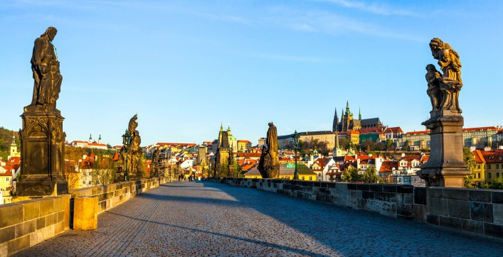 Sehenswürdigkeiten in Prag Karlsbrücke