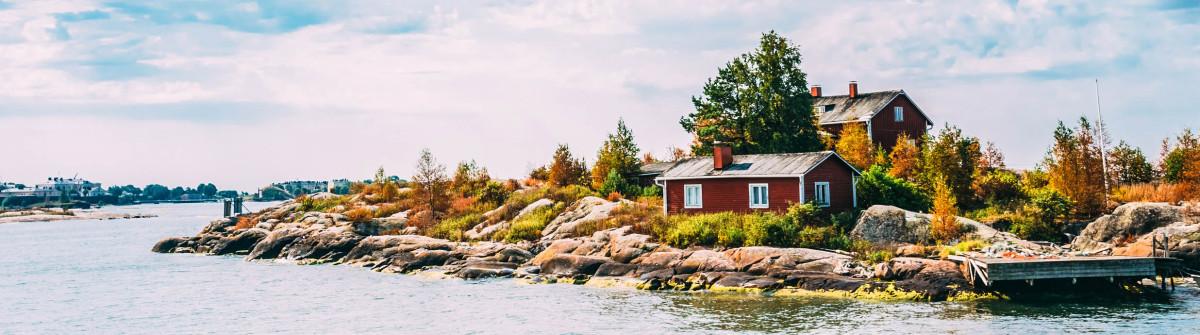 Pier, Harbour And Quay In Island Near Helsinki, Finland shutterstock_261641516-2