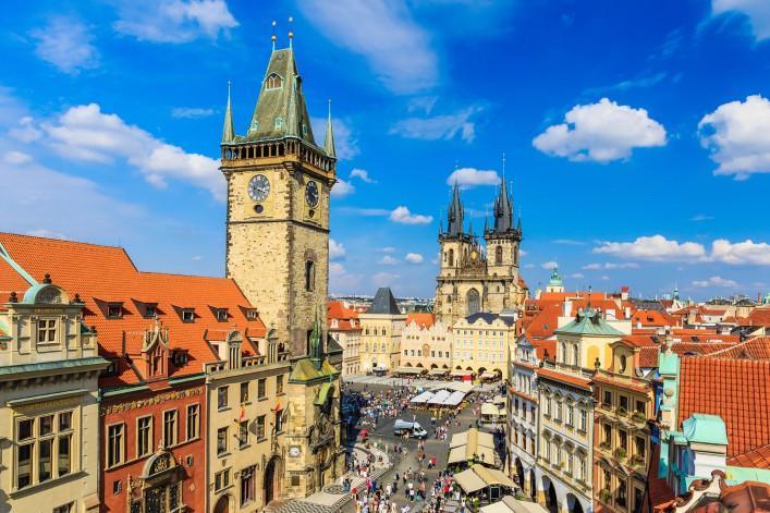 Sehenswürdigkeiten in Prag Altstädter Rathaus