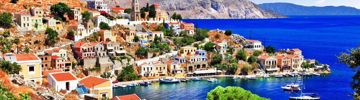 beautiful Greek islands – Symi, Dodecanese