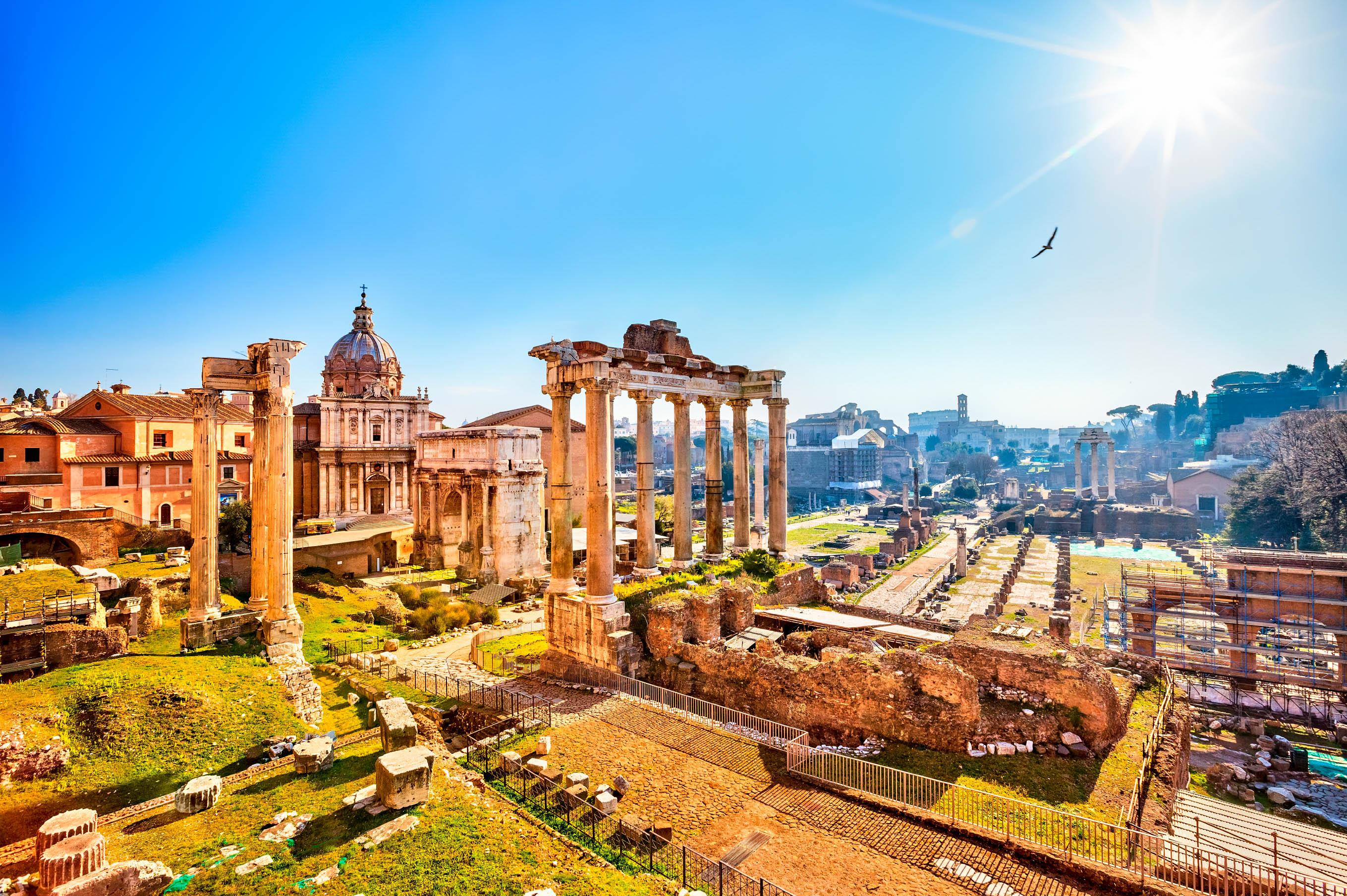 Rom Ruinen im Forum, Sehenswürdigkeiten in Rom