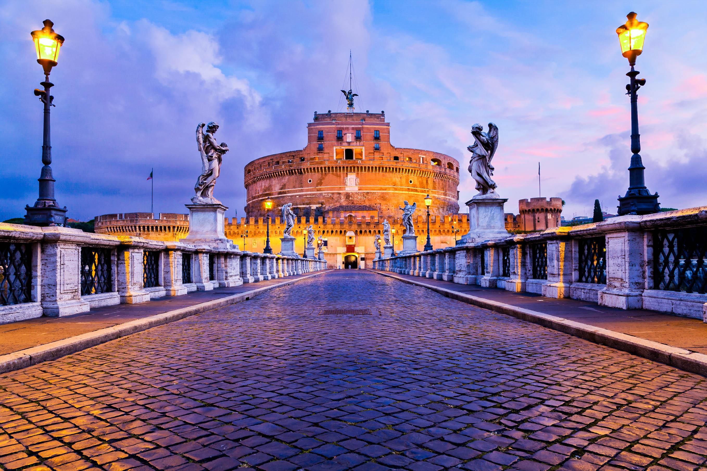 Rom Sehenswürdigkeiten in Rom, Die Engelsburg