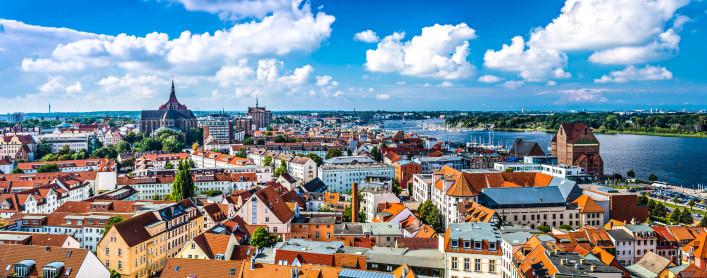 Rostock Tipps Stadt Panorama