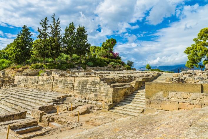 Matala Ruinen von Phaistos
