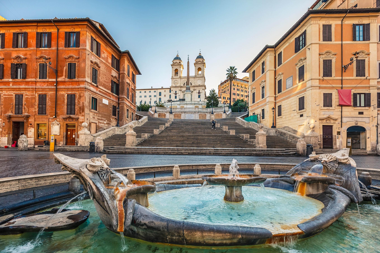 Rom Die Spanische Treppe, Sehenswürdigkeiten in Rom