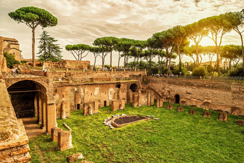 Rom Sehenswürdigkeiten in Rom, Der weltberühmte Palatin Hügel