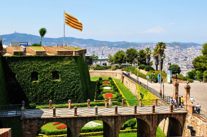 Sehenswürdigkeiten in Barcelona Montjuic
