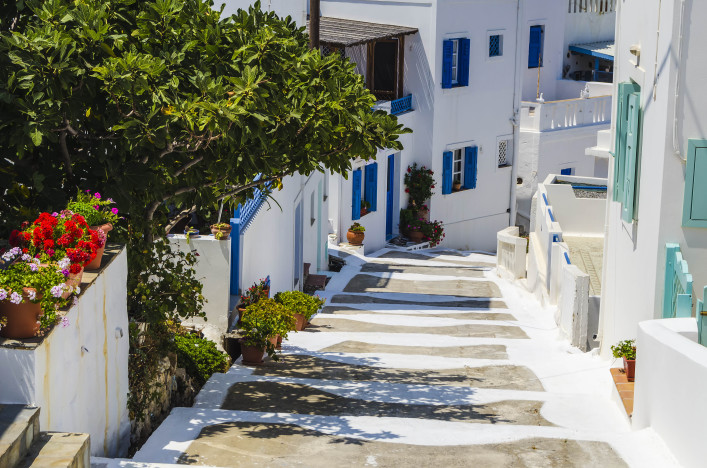 Traditional streets in the island of Astypalaia Greece shutterstock_414786718-2
