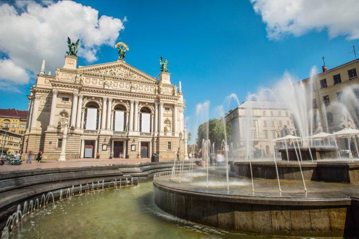 Lviv Opera and Ballet Theater, Ukraine shutterstock_214262503-2