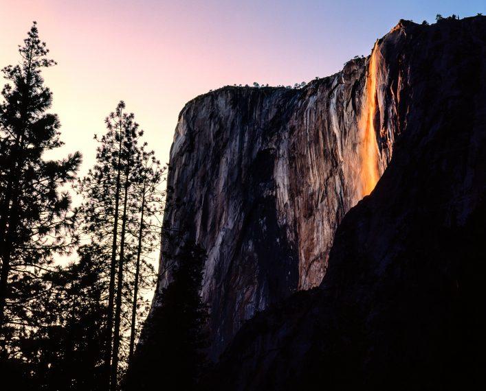 Naturphänomene Horsetail Falls