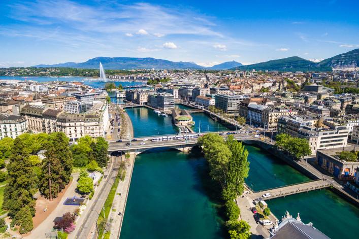 Genf von oben