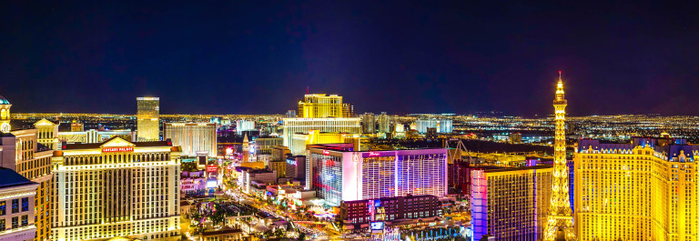 Aerial View of the Las Vegas Strip at Night iStock_000042933500_Large-2