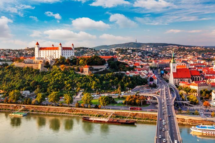 Bratislava – aerial view