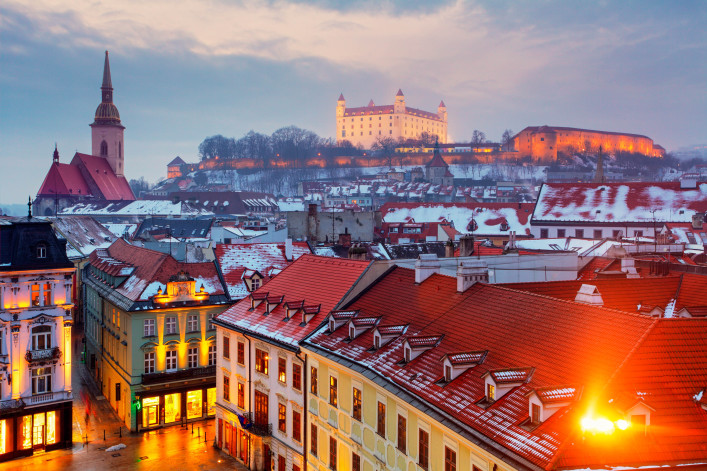 Bratislava panorama – Slovakia