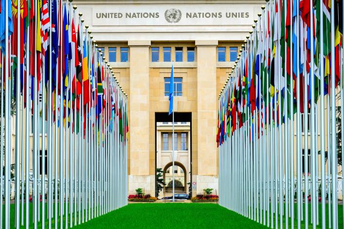 Genf Sitz der UNO