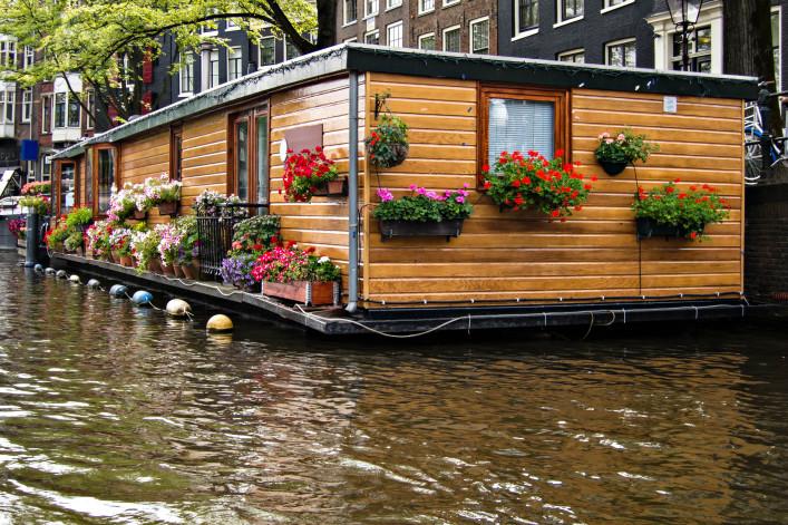 Hausboot Amsterdam