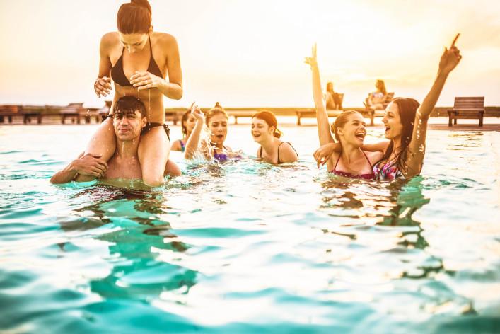 Ferienwohnung mit Pool in Berlin