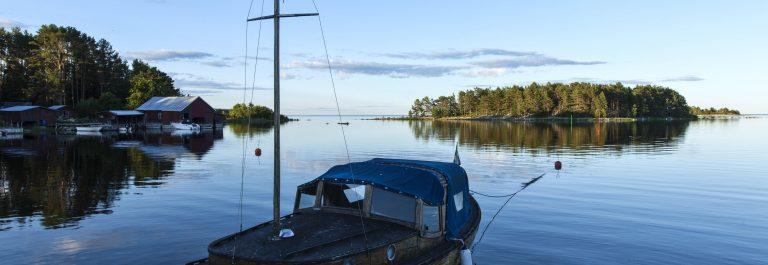 Hausboot in Schweden