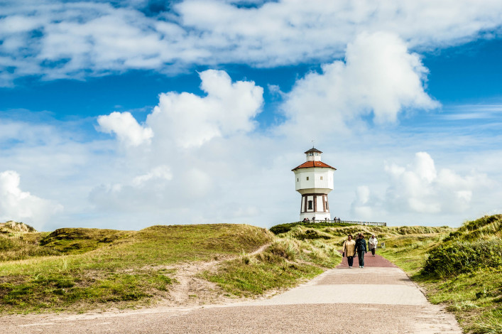 Leisure and water tower on Langeoog, Germany