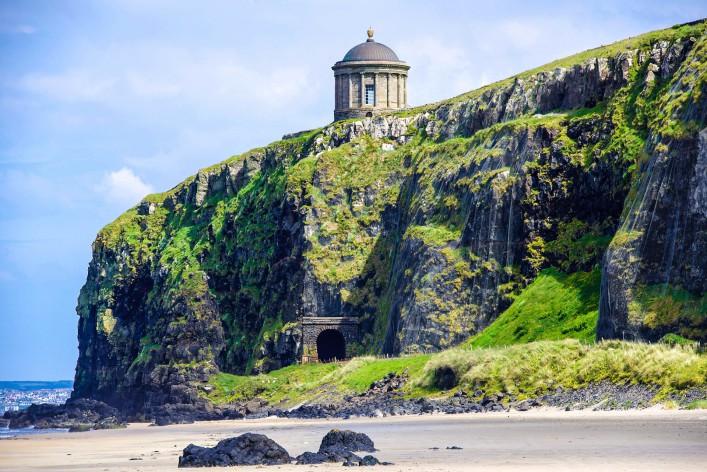 Nordirland Game of Thrones Drehorte Mussenden Tempel