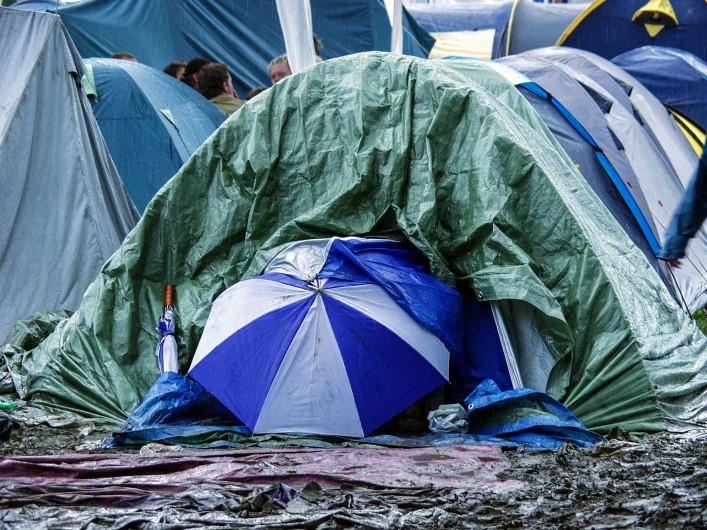 Roskilde Festival (Rain in Pain)
