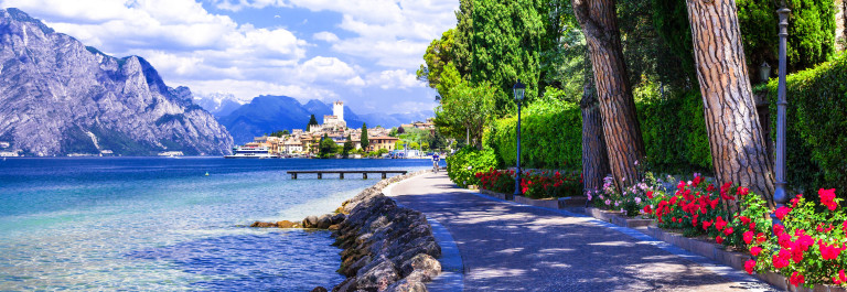 scenery of northen Itlay – Malcesine, Lago di garda shutterstock_261967121-2