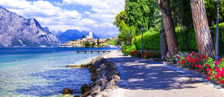 scenery of northen Itlay – Malcesine, Lago di garda shutterstock_261967121-2