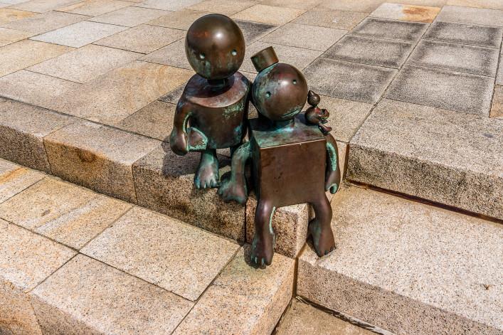 Sculpture garden in Scheveningen called SprookjesBeel den aan Zee shutterstock_282099176 EDITORIAL ONLY Kiev Victor-2