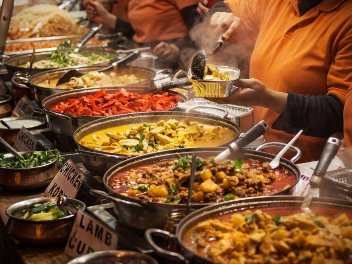 London Tipps Markt Streefood