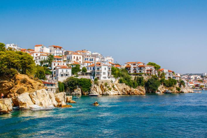 Griechische Inseln Skiathos