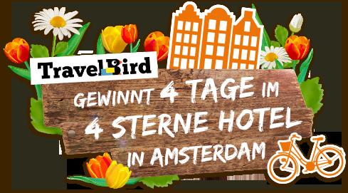 Amsterdam Gewinnspiel - Urlaubsguru, Travelbird