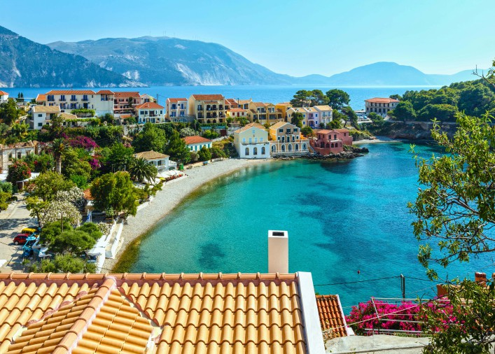 griechische Inseln Kefalonia