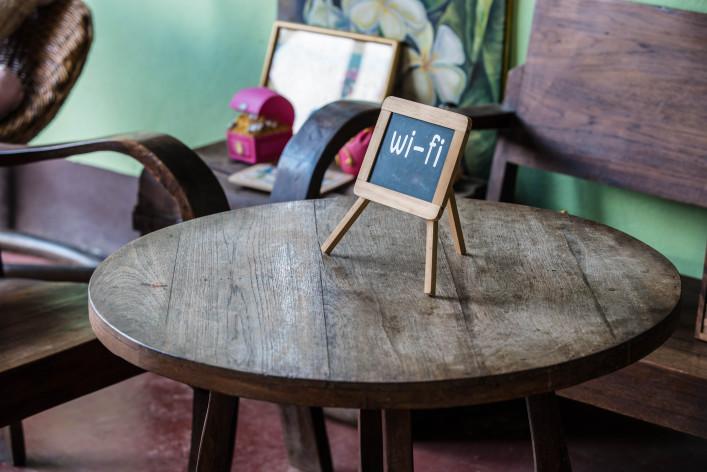 Internetgefahren im Urlaub Wifi Tablet