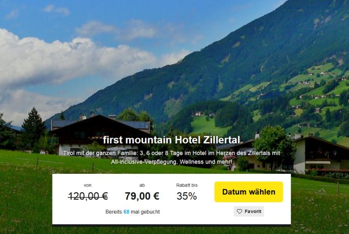zillertal first mountain