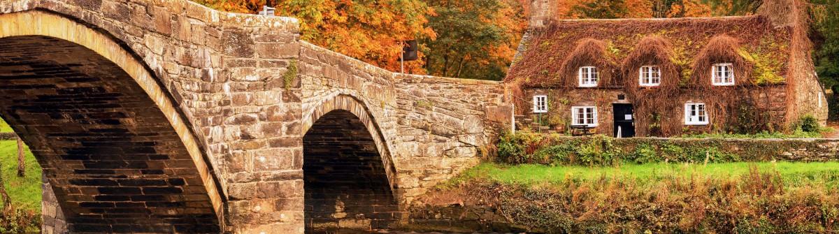 Autumn in Llanrwst ,Snowdonia North Wales shutterstock_160416149-2