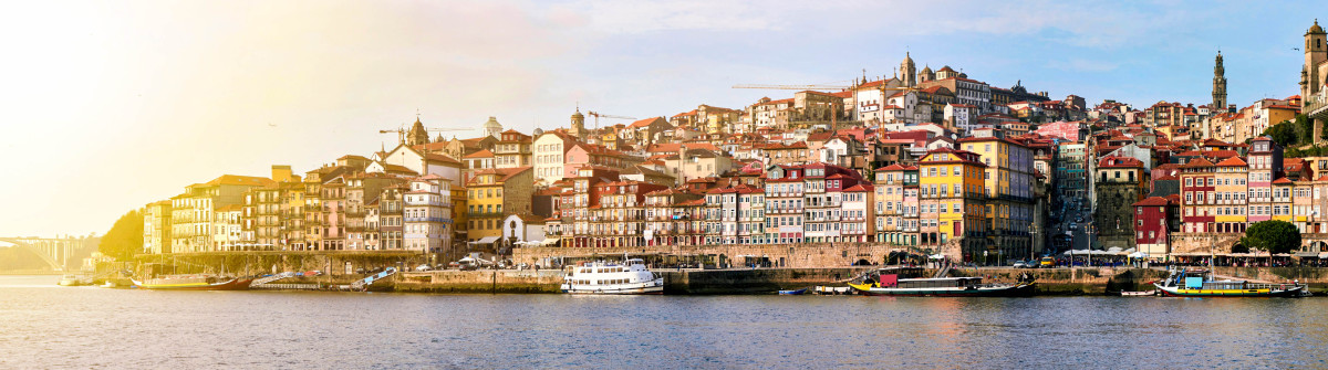 Cityscape of Porto, Portugal