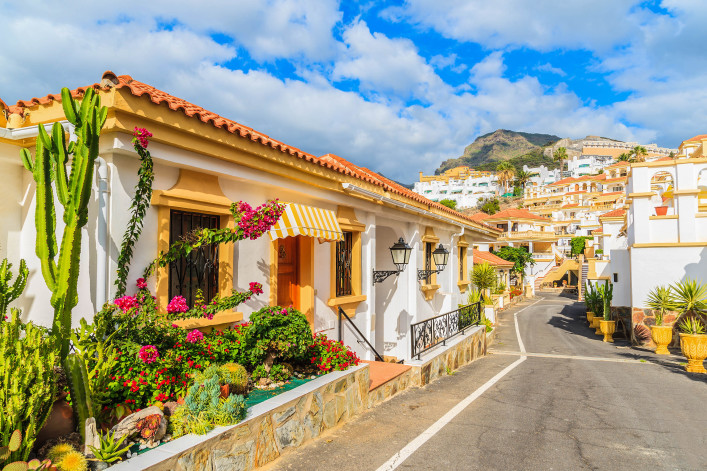 Costa Adeje, Tenerife, Canary Islands, Spain shutterstock_342949919-2