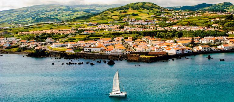 Horta Faial Azoren Azores Faial Island iStock_000021154453_Large-2