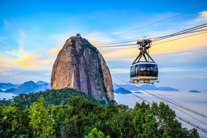 Rio de Janeiro Zuckerhut Seilbahn