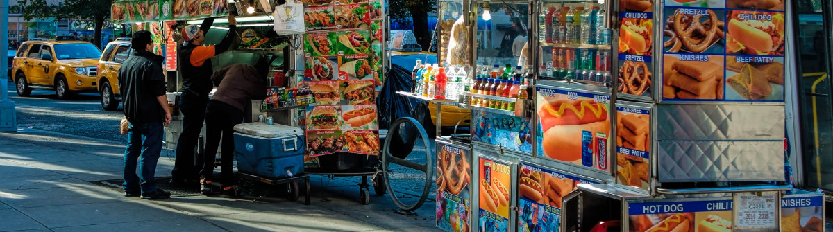 food vendors in New york City