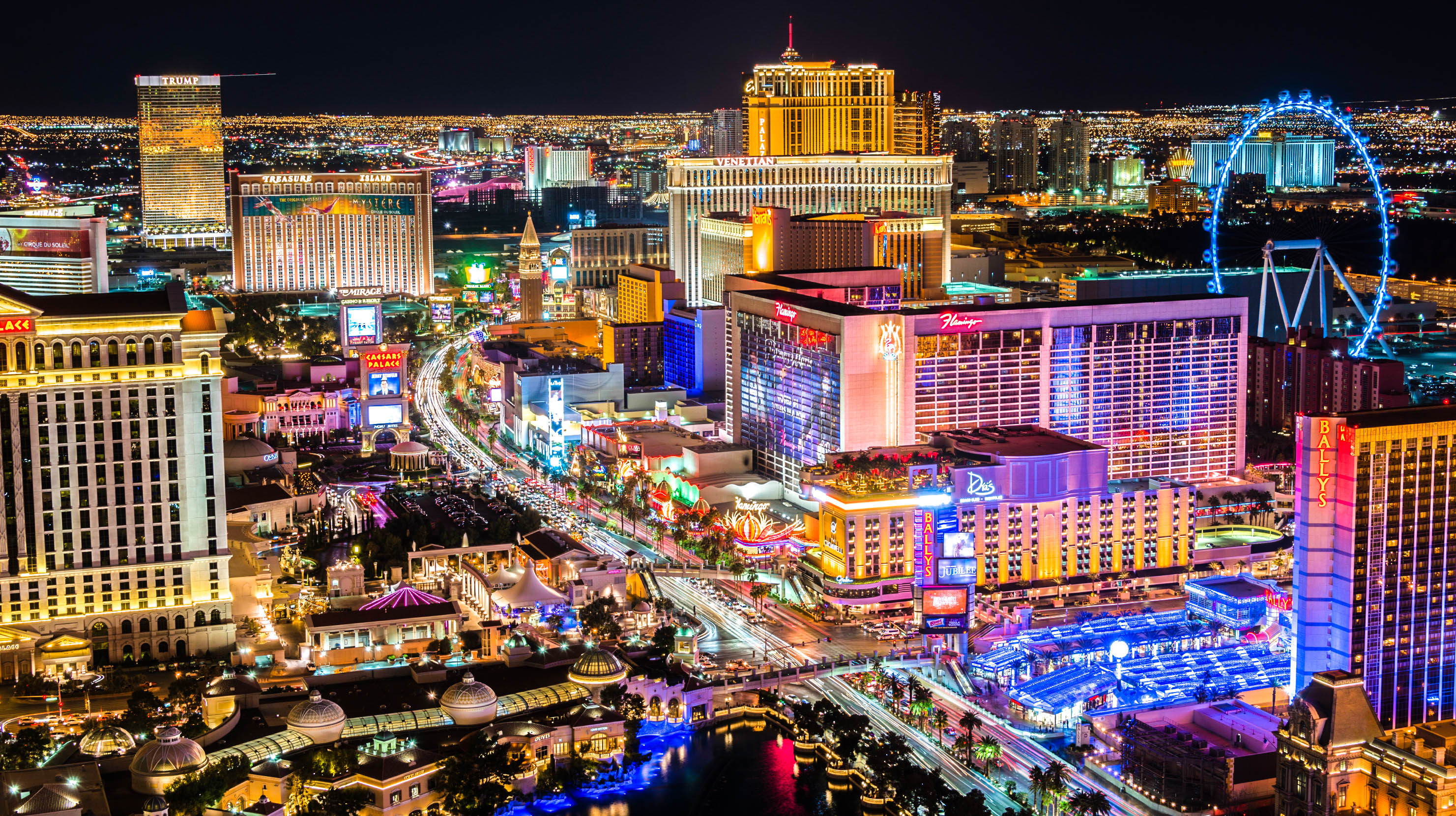 Picture of the las vegas strip