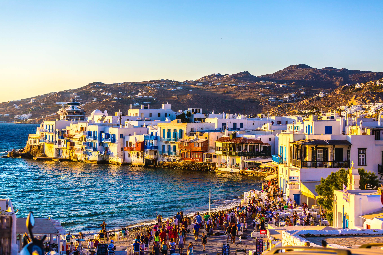Mykonos Oder Santorini