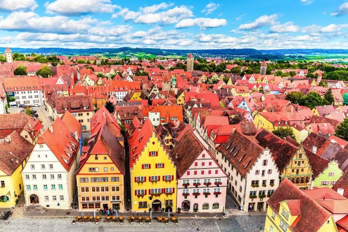 Urlaub in Franken Rothenburg ob der Tauber
