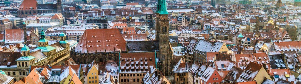 Urlaub in Franken im Nürnberger Winter