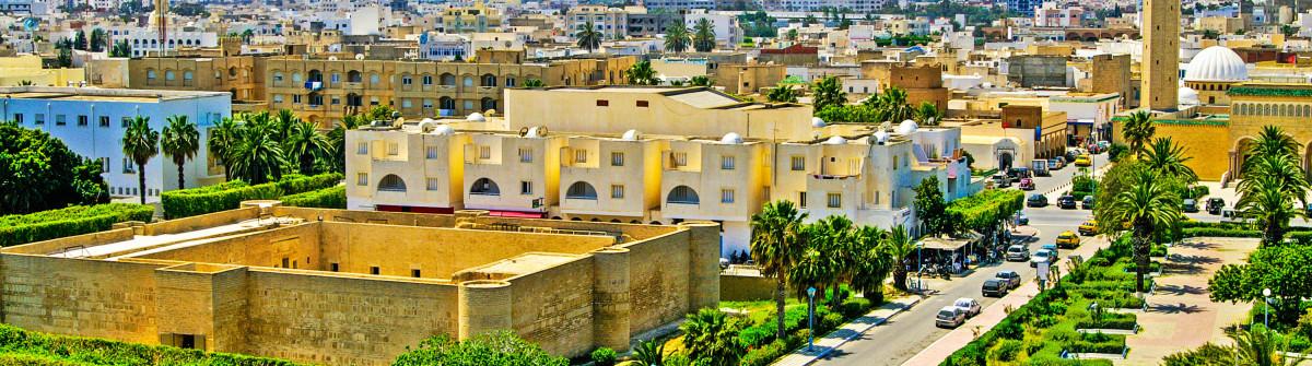 Overview of Monastir from the ribat, Monastir, Tunisia